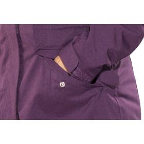 Meru Kristianstad Manteau imperméable rembourré Femme, deep purple melange